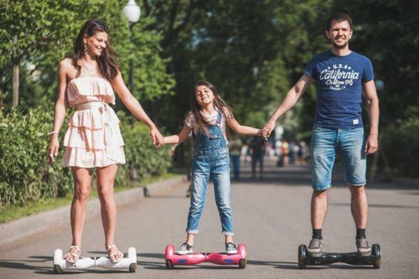 hoverboard famiglia