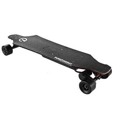 pure energy skateboard elettrico